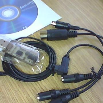 Cable usb pour radio Futaba Graupner JR Hitec Spectrum  ect Photo_13