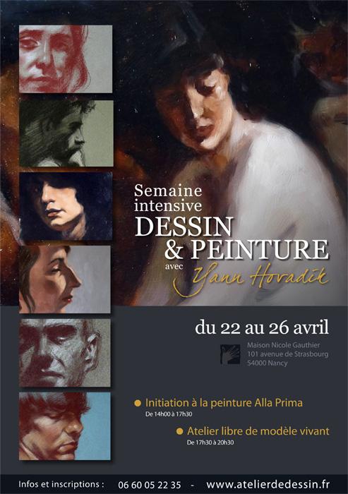 SEMAINE INTENSIVE DESSIN & PEINTURE 22 au 26 AVRIL 2013 Stage-10