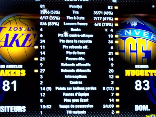 Lakers 81 - Denver 83 [VERIFIE][CLASSE] 100_6810