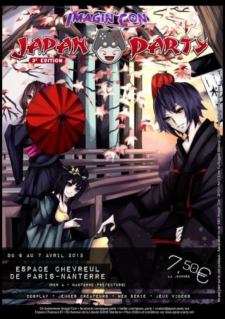 JAPAN PARTY 3ème édition - 6 & 7 avril 2013 Affich11