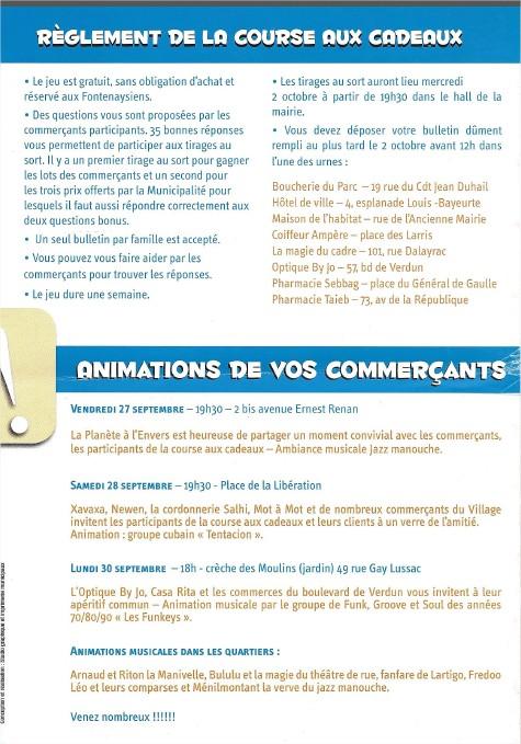 Course aux cadeaux et pot amical des commerçants - Page 3 Course11