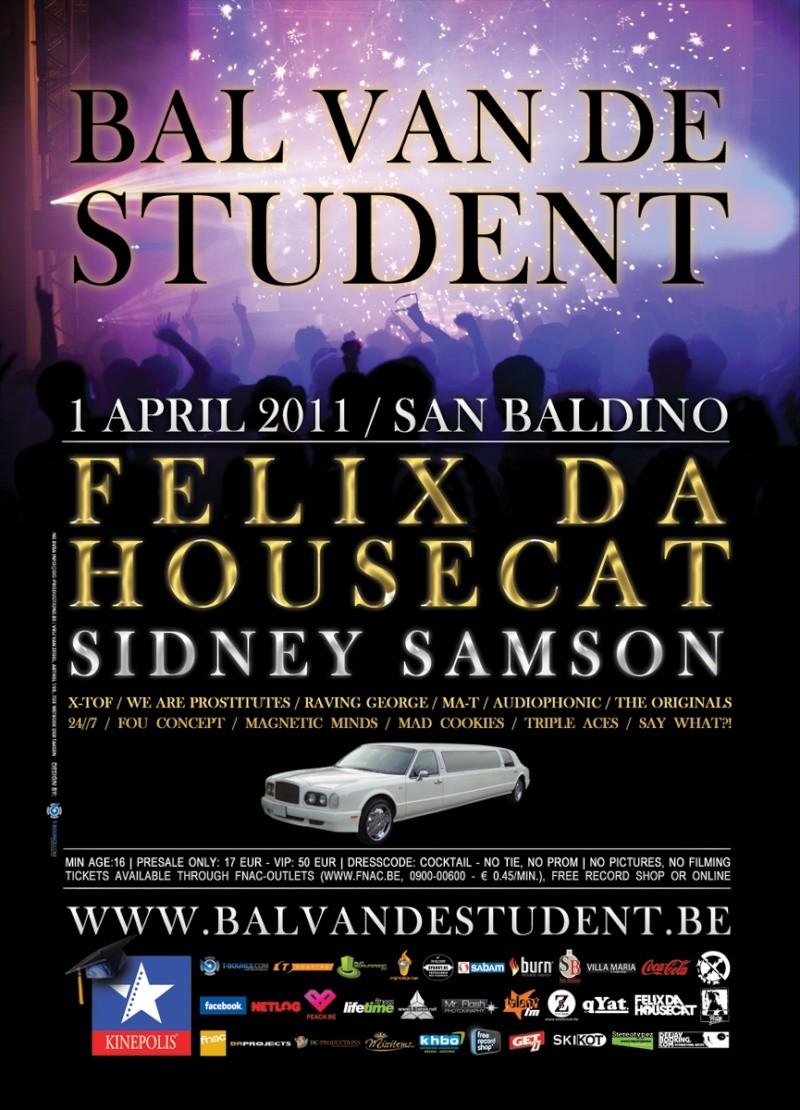 2011.04.01 - BAL VAN DE STUDENT 2011 : FELIX DA HOUSECAT, SIDNEY SAMSON... (BELGIUM) Bvds2010
