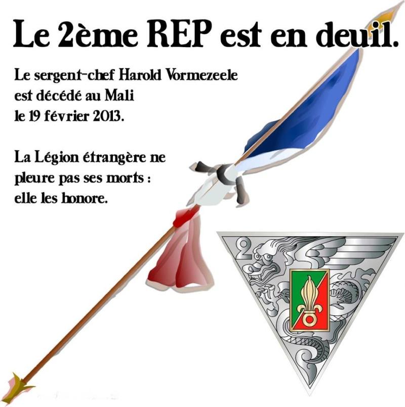 LE sergent chef Harold Vormezeele (  GCP ) du 2 REP  tués au mali  - Page 2 Rep-3c10