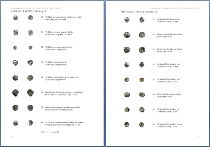 Corpus des monnaies de Marseille et Provence, Languedoc Oriental et Vallée du Rhône Obolos10
