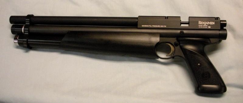 Mon pistolet benjamin Maraudeur  Black-10