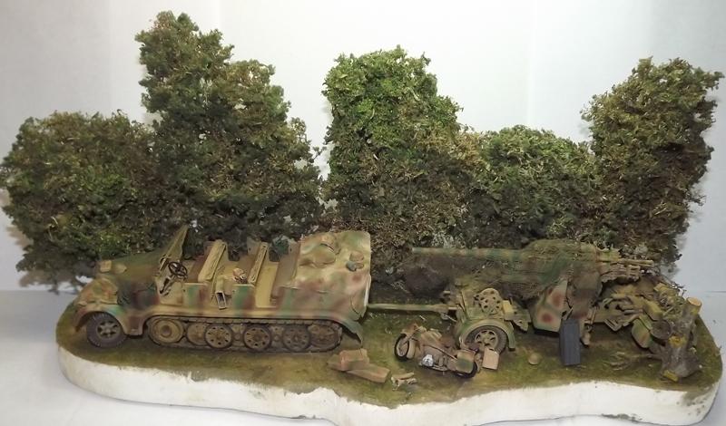 Sd.Kfz.7 + Flak 36/37 [Tamiya 1/35] Dscf6618