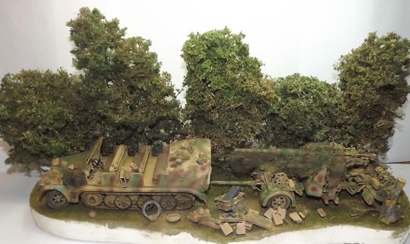 Sd.Kfz.7 + Flak 36/37 [Tamiya 1/35] Dscf6620