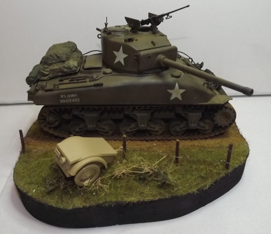 M4A1 italeri 1/35... - Page 2 Patine10