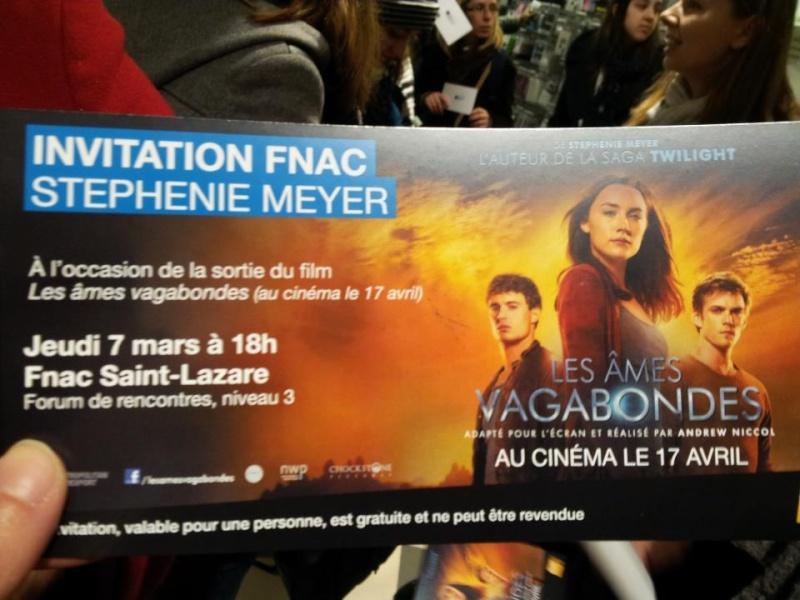 Rencontre avec Stephenie MEYER - Paris 7 mars 2013 18898310