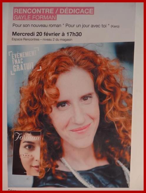 Rencontre avec Gayle FORMAN - Paris, 20 février 2013 Affich10