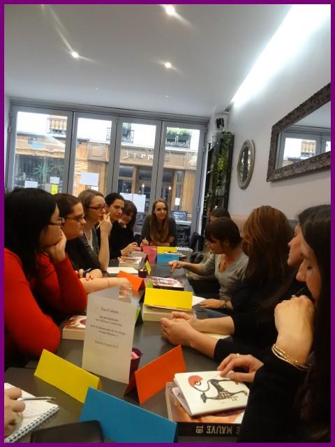 Rencontre avec Marilou AZNAR, Paris, le 2 mars 2013 Dsc01410
