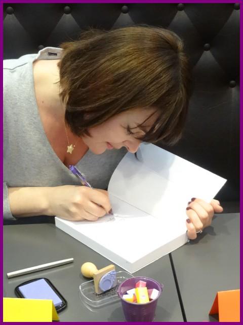 Rencontre avec Marilou AZNAR, Paris, le 2 mars 2013 Dsc01517