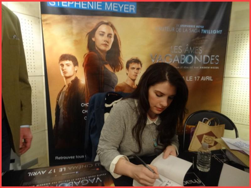 Rencontre avec Stephenie MEYER - Paris 7 mars 2013 Dsc01610