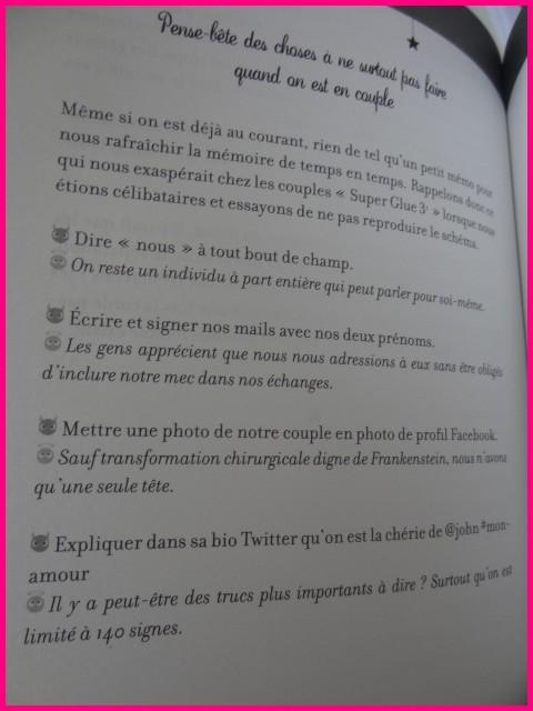 DE PAOLA Lucie - LES FILLES PENSENT QUE - Tome 2 : ... La vie de couple n'est pas un conte de fées... Dsc01618