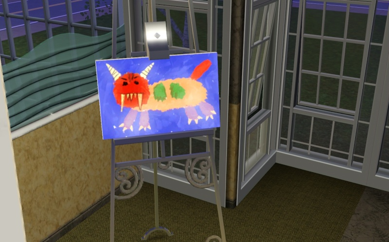 Brush Strokes - What's your Sim Painting? Mad_ca10