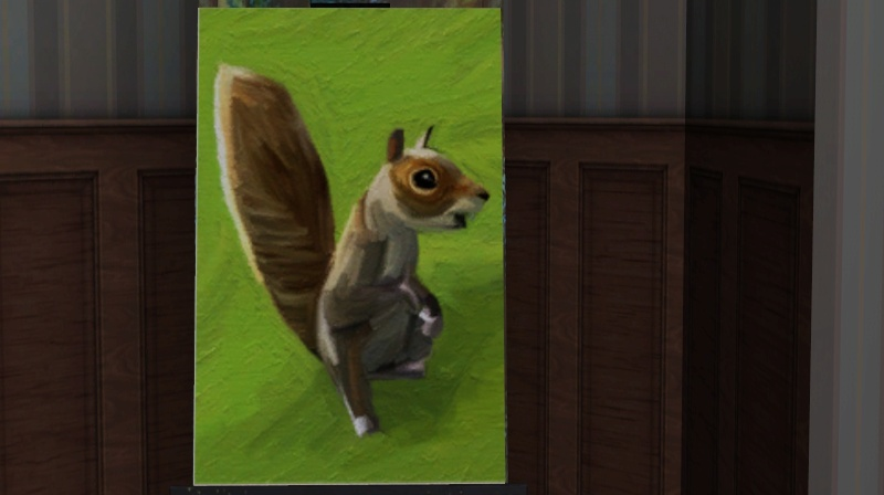 Brush Strokes - What's your Sim Painting? Squirr10