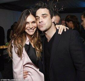 Robbie et Ayda aux Grammy awards 12.02.13 Bc51we10