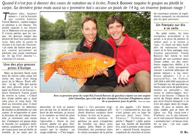carpe KOÏ de 14 kg pour Franck Banovic Carpe_10