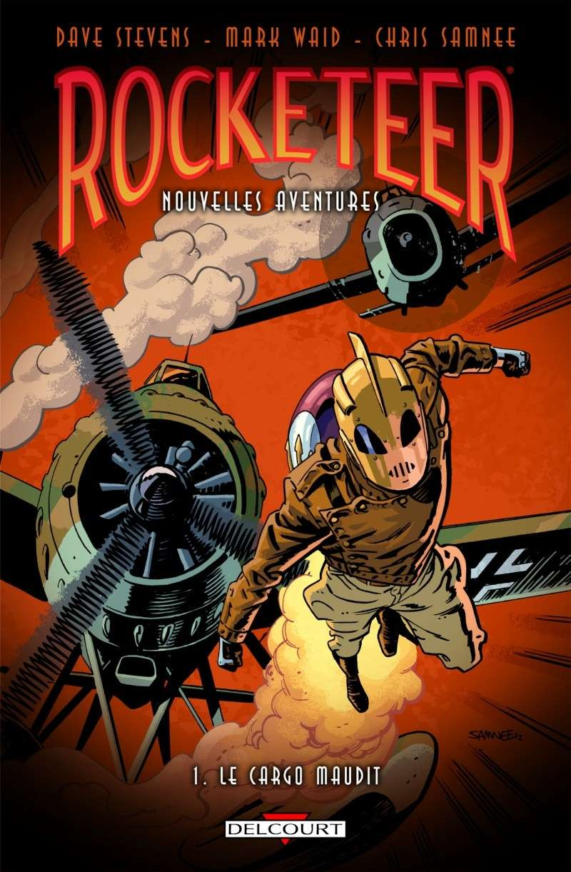 Rocketeer Nouvelles Aventures [Delcourt] News_i35