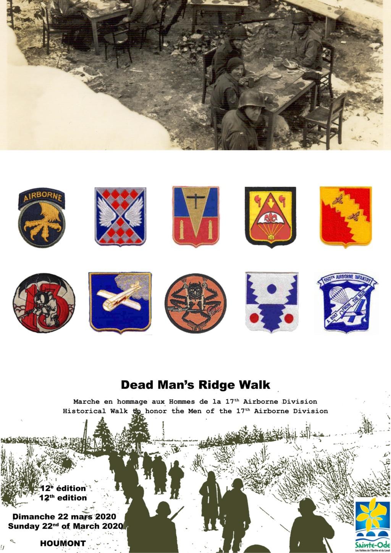 17th Airborne Division - Dead Man's Ridge Walk 2020 Flyer_11