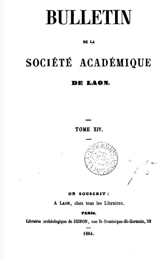 19 Novembre 1864, l'Empereur Napoléon III à Sapigneul 010