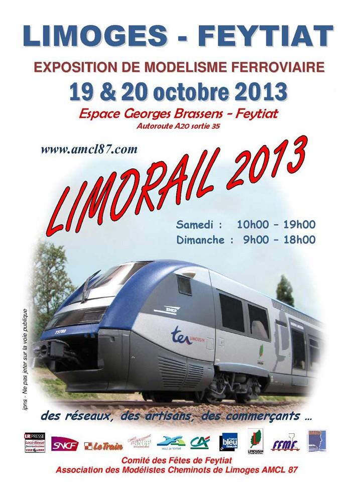 """""""Limorail"""", les 19 & 20 octobre 2013 Affich10"""