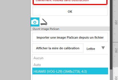 Pixscan : Impossible de detecter les reperes Teleph10