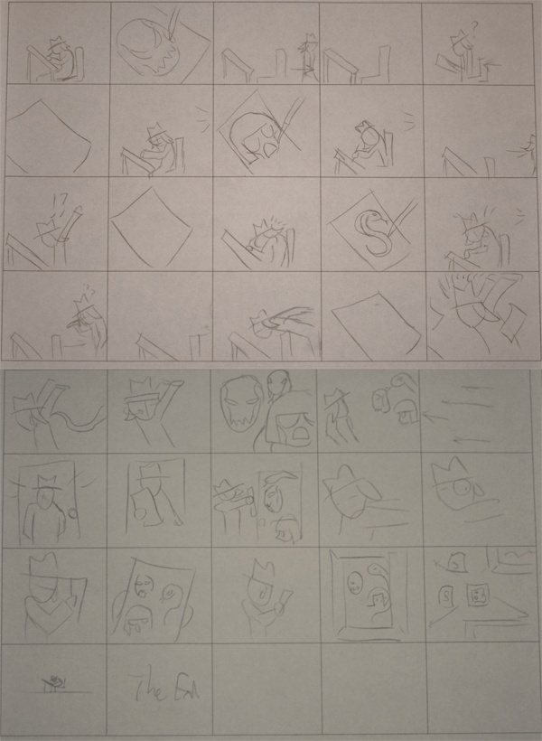 Assignment 10: Storyboard for video project due Mar 18 Storyb10