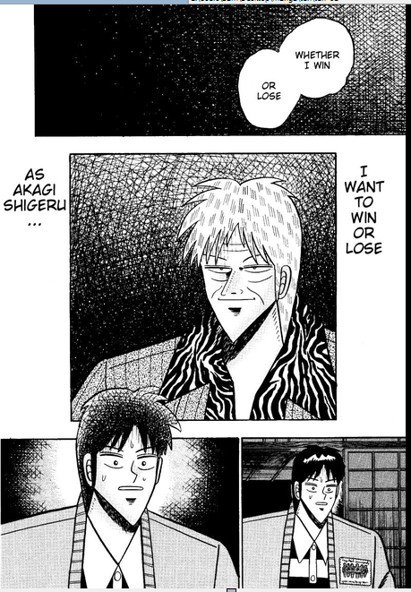 You Know What They Say In Ten But Like Explains A LOT In Akagi?. . .  Winorl10