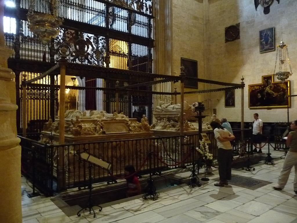 la chapelle royale de grenade derniers de repos des roi s catholiques Isabelle et Ferdinand  1024px12