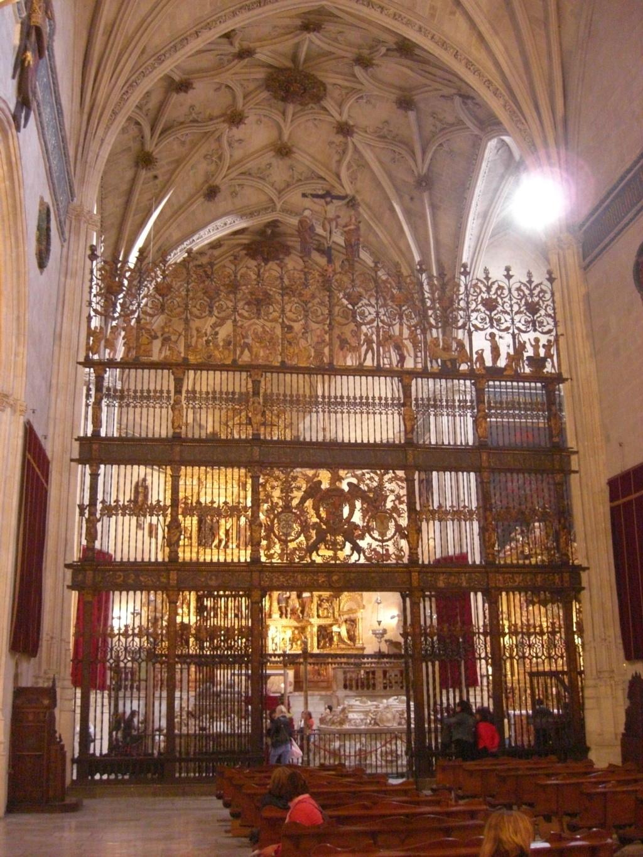 la chapelle royale de grenade derniers de repos des roi s catholiques Isabelle et Ferdinand  Capill10