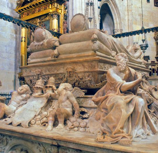 la chapelle royale de grenade derniers de repos des roi s catholiques Isabelle et Ferdinand  Chapel10