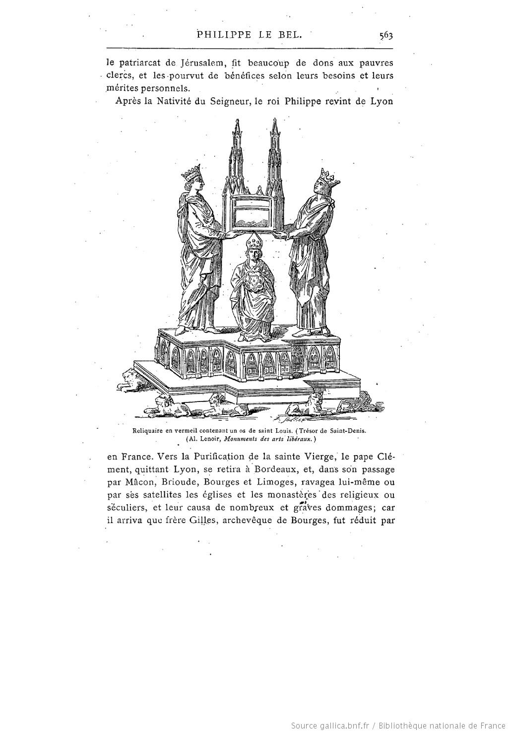 Description des piéces de la planche III de Félibien   - Page 2 Les_ch10