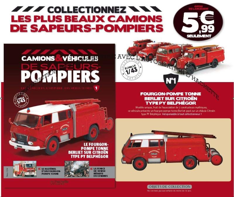 Nouvelle collection POMPIERS en  PRESSE par HACHETTE Pompie12