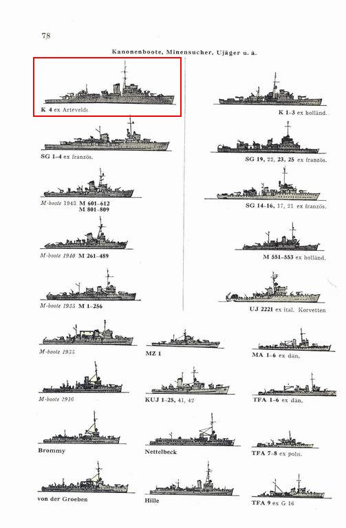 Belges sous la bannière de la Kriegsmarine 7810