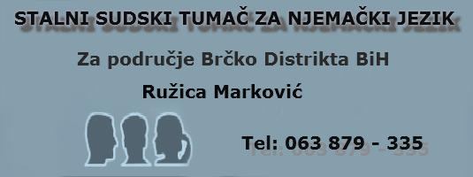 R. Marković - Sudski tumač za njemački jezik Eurola10