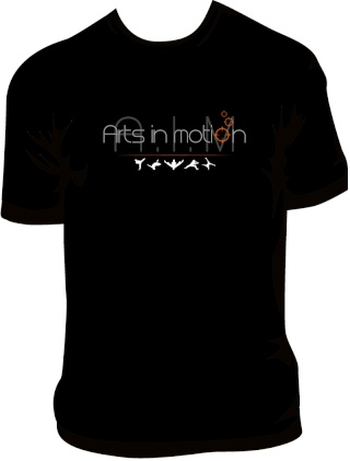 T-shirts Arts In Motion - 1ère version T-shir11