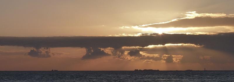 Couchers de soleil sur la Mer d'Iroise P1070812