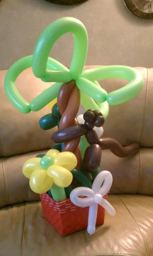 Not to much going on in the balloon section Monkey10