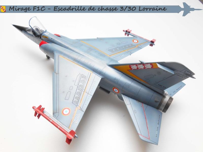 MIRAGE F1 N°23 - 30 FC - EC 3/30 LORRAINE A12