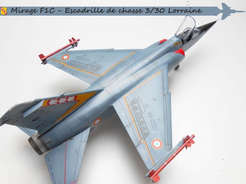 MIRAGE F1 N°23 - 30 FC - EC 3/30 LORRAINE B12