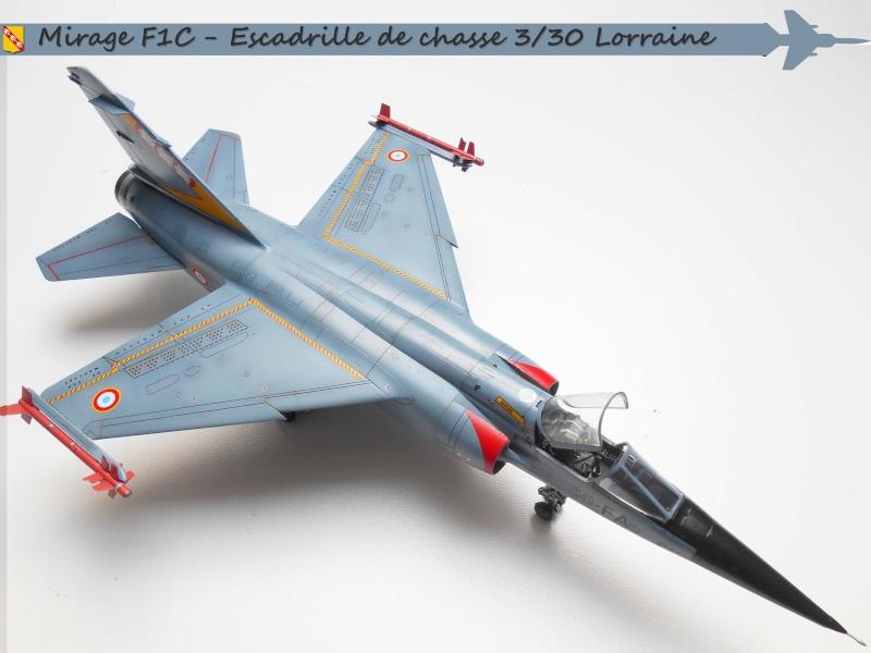 MIRAGE F1 N°23 - 30 FC - EC 3/30 LORRAINE C11