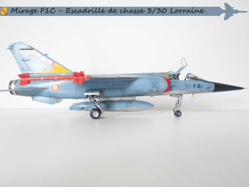 MIRAGE F1 N°23 - 30 FC - EC 3/30 LORRAINE D10
