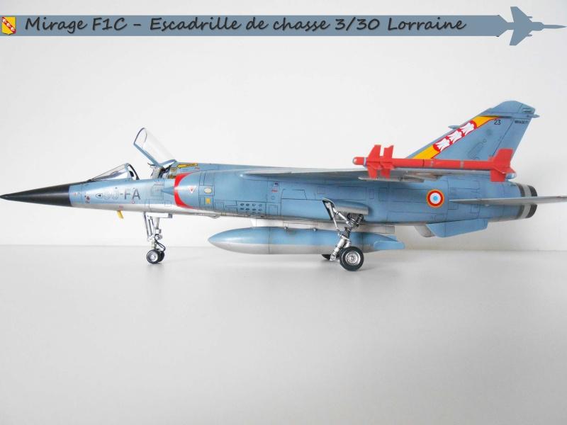 MIRAGE F1 N°23 - 30 FC - EC 3/30 LORRAINE E10