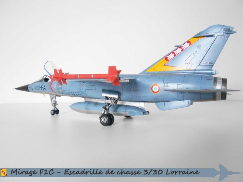 MIRAGE F1 N°23 - 30 FC - EC 3/30 LORRAINE H10