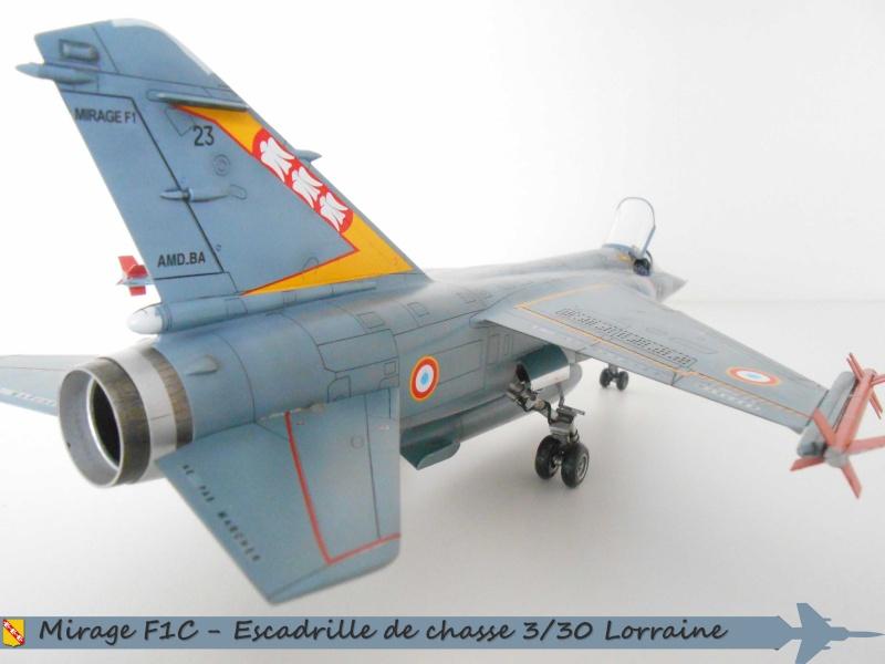 MIRAGE F1 N°23 - 30 FC - EC 3/30 LORRAINE I10