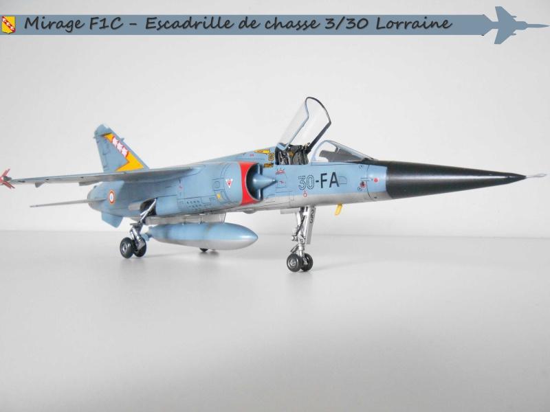 MIRAGE F1 N°23 - 30 FC - EC 3/30 LORRAINE J10