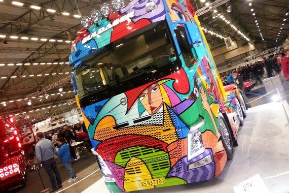 Camions décorés Front_10