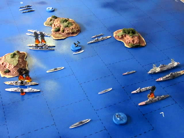 WWII Axis & Allies War at Sea 356210