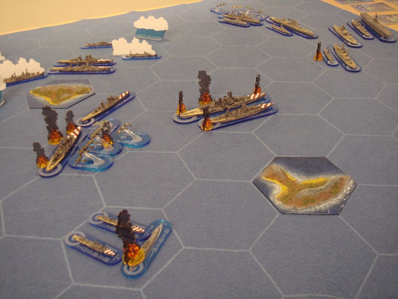 WWII Axis & Allies War at Sea Was310